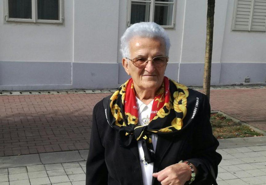 IN MEMORIAM Danica Bilić: Pomagat ću dokle god mogu hodati