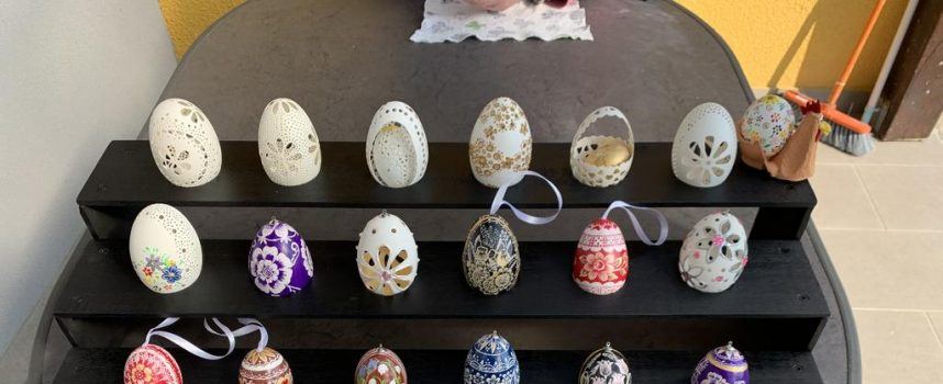 PREKRASNA DJELA Ukrasila 200 guščjih jaja