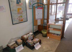 KNJIŽNICA – Vraćene knjige ostaju u 'karanteni' 72 sata
