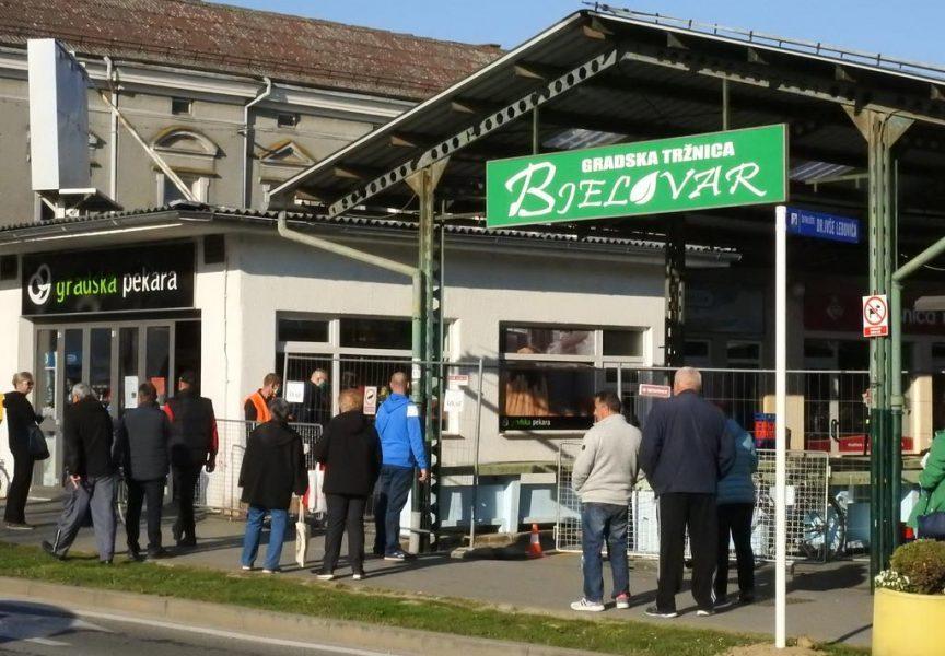 Tržnica radi bez dozvole Nacionalnog stožera