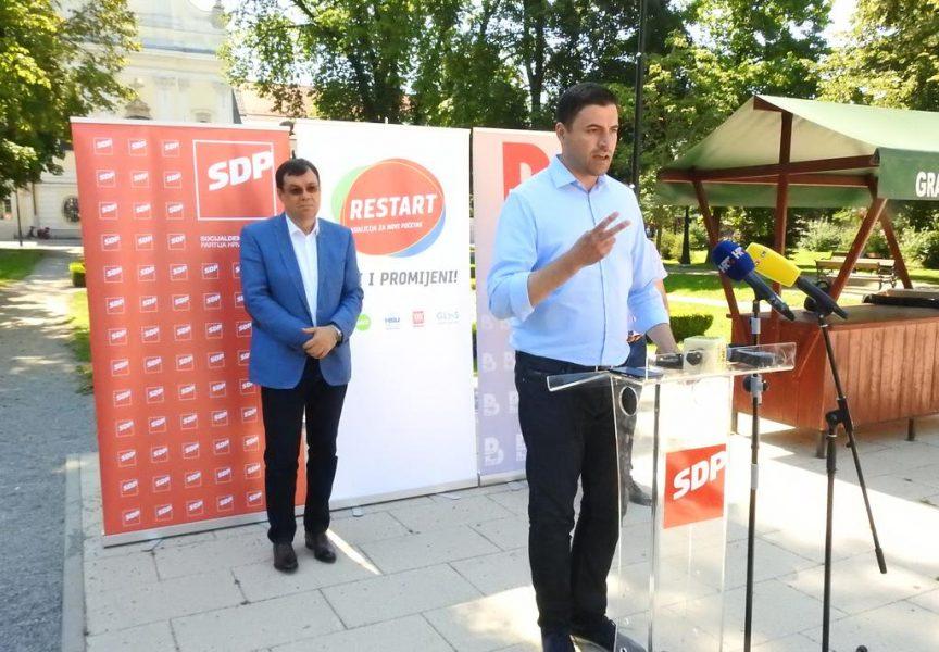 RESTART KOALICIJA – Vlada je četiri godine zaobilazila Bjelovarsko – bilogorsku županiju. Mi ćemo joj pomagati i dovoditi projekte