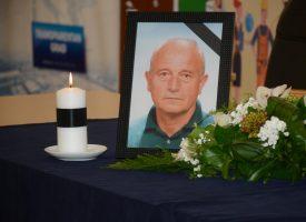 SVEČANA KOMEMORACIJA – Posljednje zbogom velikanu bjelovarskog sporta Vladimiru Turković