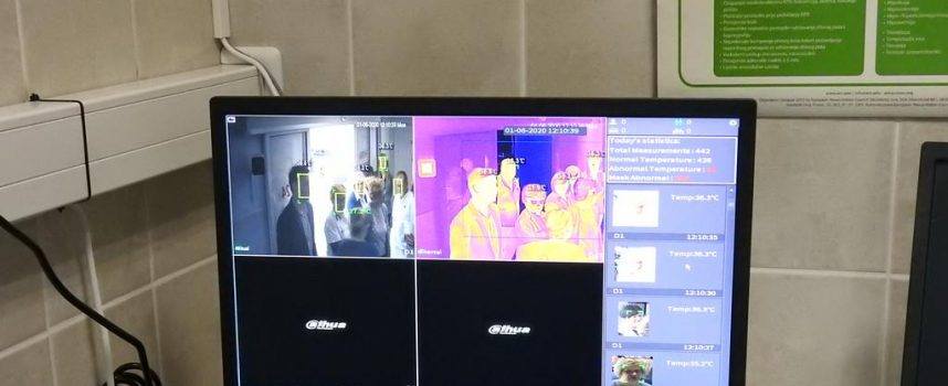 VRIJEDNA DONACIJA Postavljena termovizijska kamera na Hitnom prijemu Opće bolnice Bjelovar