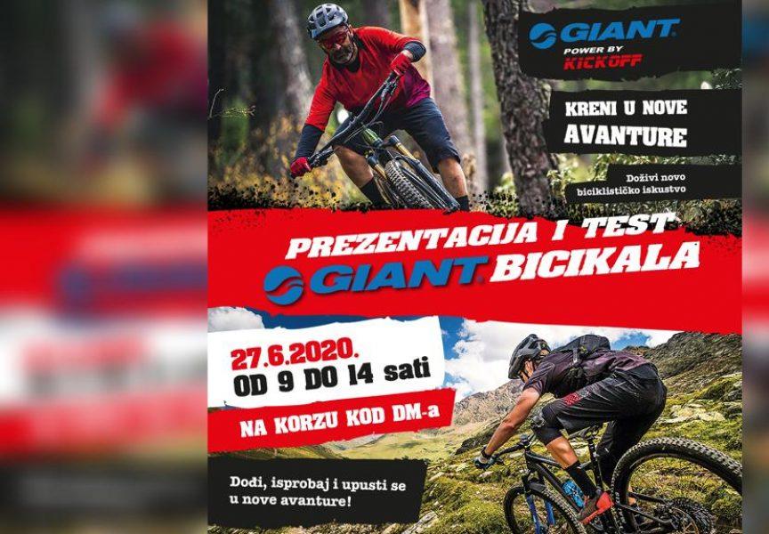 NE PROPUSTITE Prezentacija Giant bicikala na korzu