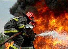 VELIKO TROJSTVO – Požar u napuštenoj zgradi