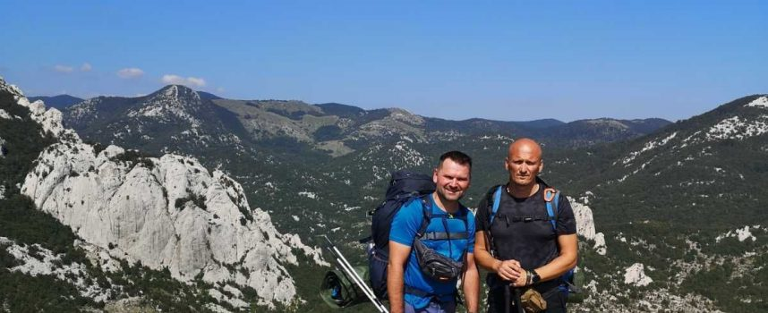 HIGHLANDER Bjelovarski dvojac pet dana pješačio Velebitom
