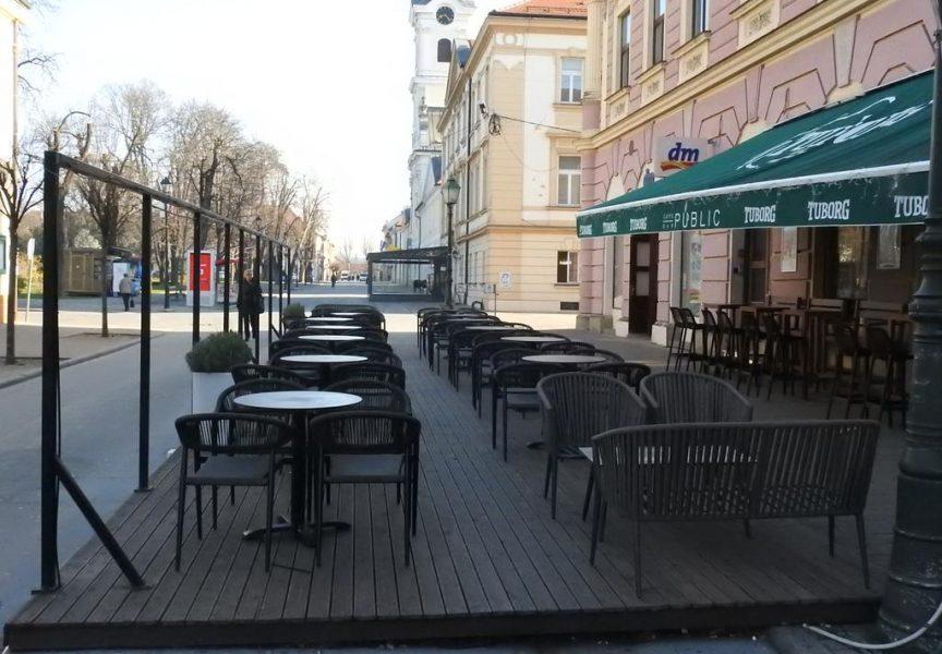 DVA TJEDNA POD MJERAMA – Bjelovarskim ugostiteljima promet značajno pao