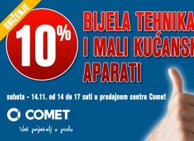 SUBOTA –  Velika akcija u Cometu!