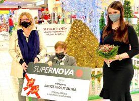 SUPERNOVA donira 10 tisuća kuna udrugama BOLJE SUTRA i LATICE