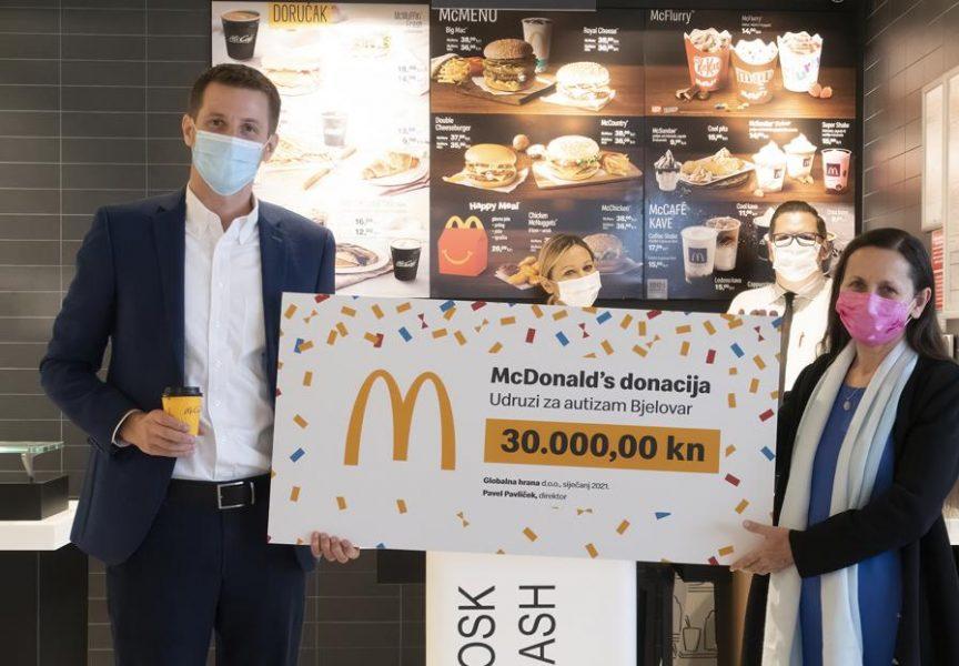 Otvoren bjelovarski McDonalds