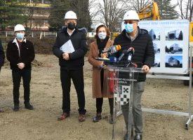 FOTO – Krenula je izgradnja Glazbene škole Vatroslava Lisinskog