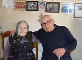 PLATINASTI PIR – Supružnici Stojković zajedno kroz život plove 70 godina