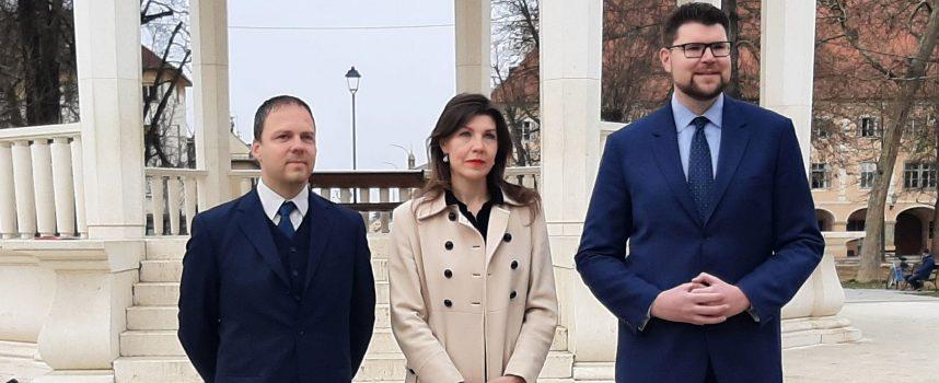 Sandra Frčo kandidatkinja SDP-a za županicu BBŽ-a