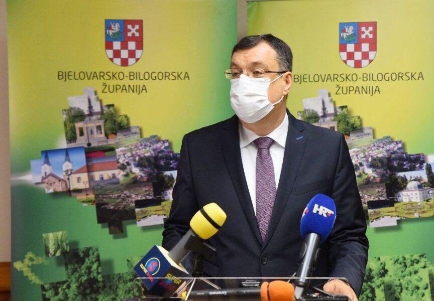 Župan Damir Bajs o HDZ-ovim priopćenjima