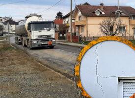 SLUČAJ TROJSTVENE ULICE – Grad se odrekao odgovornosti i prebacio ulicu na Hrvatske ceste. Iz HC-a kažu da oni nisu odgovorni za postojeće stanje